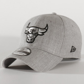 /achat-casquettes-de-baseball/new-era-casquette-39thirty-heather-essential-12134991-chicago-bulls-gris-chine-202900.html