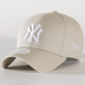 /achat-casquettes-de-baseball/new-era-casquette-femme-9forty-mlb-league-essential-940-80259555-new-york-yankees-beige-202951.html