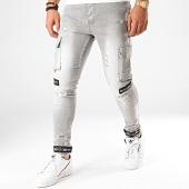 /achat-pantalons-cargo/classic-series-jean-skinny-2856-gris-203009.html