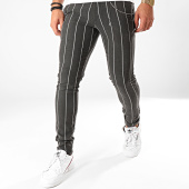 /achat-chinos/grj-denim-pantalon-chino-a-rayures-a19y2235-gris-anthracite-chine-203051.html
