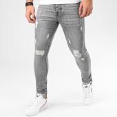 /achat-jeans/lbo-jean-skinny-avec-dechirures-zg319g-03-gris-203024.html