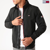 /achat-vestes/tommy-jeans-veste-zippee-essential-bomber-7366-noir-203026.html