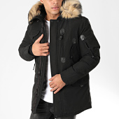 /achat-parkas/comme-des-loups-parka-fourrure-otawa-noir-beige-203129.html