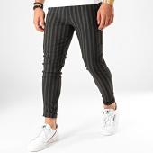 /achat-pantalons-carreaux/frilivin-pantalon-a-rayures-1659-noir-gris-anthracite-203180.html