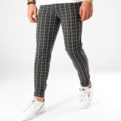 /achat-pantalons-carreaux/frilivin-pantalon-a-carreaux-1660a-noir-203181.html