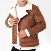 /achat-vestes/frilivin-veste-zippee-col-mouton-qq551-marron-203190.html
