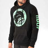 /achat-sweats-capuche/ohmondieusalva-sweat-capuche-ablh-noir-vert-203164.html