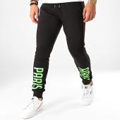 /achat-pantalons-joggings/ohmondieusalva-pantalon-jogging-ablh-noir-vert-203172.html