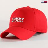 /achat-casquettes-de-baseball/tommy-jeans-casquette-logo-cap-5622-rouge-203121.html