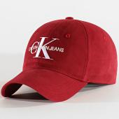 /achat-casquettes-de-baseball/calvin-klein-casquette-monogram-6246-bordeaux-203343.html