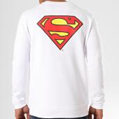 /achat-sweats-col-rond-crewneck/superman-sweat-crewneck-original-logo-back-blanc-203280.html