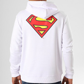 /achat-sweats-capuche/superman-sweat-capuche-original-logo-back-blanc-203286.html