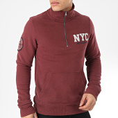 /achat-sweats-col-zippe/jack-and-jones-sweat-col-zippe-jayden-bordeaux-203349.html