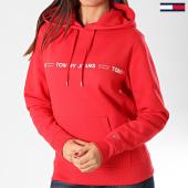 /achat-sweats-capuche/tommy-jeans-sweat-capuche-femme-linear-logo-7798-rouge-203381.html