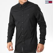 /achat-chemises-manches-longues/tommy-hilfiger-chemise-manches-longues-core-stretch-poplin-4704-noir-203385.html
