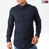 /achat-chemises-manches-longues/tommy-hilfiger-chemise-manches-longues-core-stretch-poplin-4704-bleu-marine-203388.html