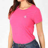 /achat-t-shirts/calvin-klein-tee-shirt-femme-ck-embroidery-2883-rose-203460.html