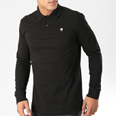 /achat-polos-manches-longues/g-star-polo-manches-longues-core-d14141-5864-noir-203398.html
