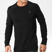/achat-t-shirts-manches-longues/g-star-tee-shirt-manches-longues-siphon-motac-d15586-b404-noir-203399.html