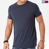 /achat-t-shirts/tommy-hilfiger-tee-shirt-core-stretch-6625-bleu-marine-203396.html
