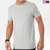 /achat-t-shirts/tommy-hilfiger-tee-shirt-core-stretch-6625-gris-chine-203401.html