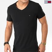 /achat-t-shirts/tommy-hilfiger-tee-shirt-col-v-core-stretch-2045-noir-203407.html