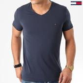 /achat-t-shirts/tommy-hilfiger-tee-shirt-col-v-core-stretch-2045-bleu-marine-203411.html