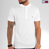 /achat-polos-manches-courtes/tommy-hilfiger-polo-manches-courtes-core-tommy-4975-blanc-203412.html