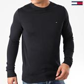 /achat-pulls/tommy-hilfiger-pull-core-cotton-silk-4978-bleu-marine-203415.html