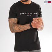 /achat-t-shirts/tommy-hilfiger-tee-shirt-core-tommy-logo-1465-noir-203420.html