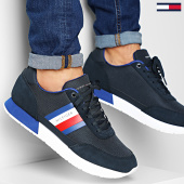 /achat-baskets-basses/tommy-hilfiger-baskets-corporate-mix-flag-runner-2601-desert-sky-203456.html