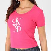 /achat-t-shirts/calvin-klein-jeans-tee-shirt-femme-mirrored-monogram-baby-2931-rose-203468.html
