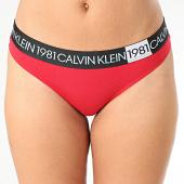 /achat-strings-culottes/calvin-klein-string-femme-thong-5448e-rouge-203578.html