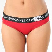 /achat-strings-culottes/calvin-klein-culotte-femme-bikini-5449e-rouge-203579.html
