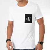 /achat-t-shirts-poche/calvin-klein-jeans-tee-shirt-poche-monogram-pocket-slim-4070-blanc-203636.html