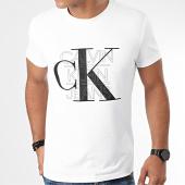 /achat-t-shirts/calvin-klein-jeans-tee-shirt-ck-graphic-slim-4229-blanc-203660.html