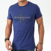 /achat-t-shirts/calvin-klein-jeans-tee-shirt-monogram-logo-slim-4551-bleu-marine-203663.html