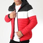 /achat-doudounes/john-h-doudoune-915-rouge-blanc-noir-203497.html