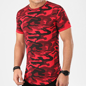 /achat-t-shirts-longs-oversize/lbo-tee-shirt-oversize-camouflage-avec-revers-940-rouge-203676.html