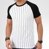/achat-t-shirts/lbo-tee-shirt-avec-rayures-noires-936-blanc-203678.html