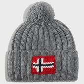/achat-bonnets/napapijri-bonnet-semiury-2-gris-203564.html