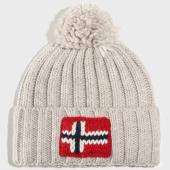 /achat-bonnets/napapijri-bonnet-semiury-2-gris-clair-203565.html