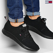/achat-baskets-basses/tommy-hilfiger-baskets-corporate-knit-modern-sneaker-2600-black-203482.html