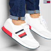 /achat-baskets-basses/tommy-hilfiger-baskets-corporate-mix-flag-runner-2601-white-203506.html