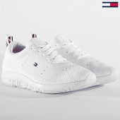 /achat-baskets-basses/tommy-hilfiger-baskets-corporate-knit-modern-sneaker-2600-white-203510.html