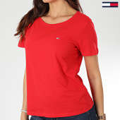 /achat-t-shirts/tommy-jeans-tee-shirt-femme-soft-jersey-6901-rouge-203530.html