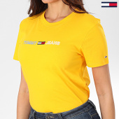 /achat-t-shirts/tommy-jeans-tee-shirt-femme-neon-linear-logo-7528-jaune-203539.html