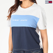 /achat-t-shirts/tommy-jeans-tee-shirt-femme-stripe-logo-7536-gris-chine-bleu-clair-bleu-marine-203540.html