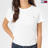 /achat-t-shirts/tommy-hilfiger-tee-shirt-femme-heritage-2043-blanc-203590.html