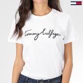/achat-t-shirts/tommy-hilfiger-tee-shirt-femme-heritage-4967-blanc-203595.html